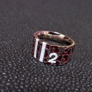 クリスチャンディオール(Christian Dior)のChristian Dior クリスチャンディオール トロッターリング15号 赤(リング(指輪))