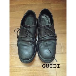 グイディ(GUIDI)のGUIDI グイディ 短靴 レザーシューズ 40サイズ(ブーツ)