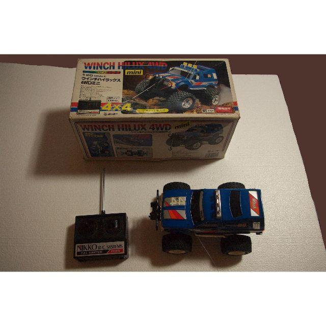 NIKKO(ニッコー)の<送料込> 1/20 ウィンチハイラックス NIKKOラジコン エンタメ/ホビーのおもちゃ/ぬいぐるみ(トイラジコン)の商品写真