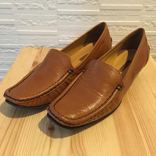 リーガル(REGAL)の着用1回美品 REGAL 革靴 22cm 茶色(ローファー/革靴)