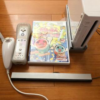 Wii - wii 本体 太鼓の達人 セット