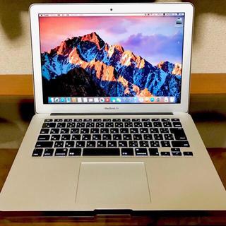 マック(Mac (Apple))の★美品 MacBook Air マックブックエアー 8GB 付属品(ノートPC)