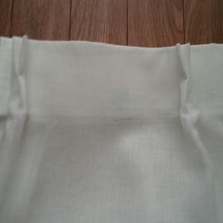 ムジルシリョウヒン(MUJI (無印良品))の無印良品オーダーカーテン(レースカーテン)