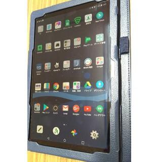 エルジーエレクトロニクス(LG Electronics)のQUA Tab PZ フルセグ付き 防水タブレット(タブレット)