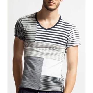 ダブルジェーケー(wjk)の数回着用定価11880円 wjk パッチワークTシャツ AKMジュンハシモト(Tシャツ/カットソー(半袖/袖なし))