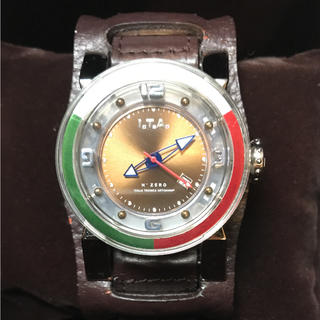 アイティーエー(I.T.A.)のI.T.A  N°ZERO(ヌメロゼロ) 生産終了モデル 美品(腕時計(アナログ))