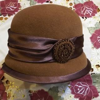 マキシン うさぎ毛 帽子