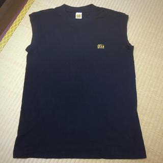 ノースリーブ メンズM(Tシャツ/カットソー(半袖/袖なし))