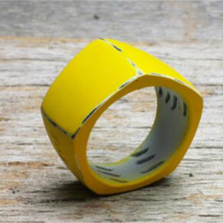 ジャムホームメイドアンドレディメイド(JAM HOME MADE & ready made)のそんなバナナスライスリング LS 7号(リング(指輪))