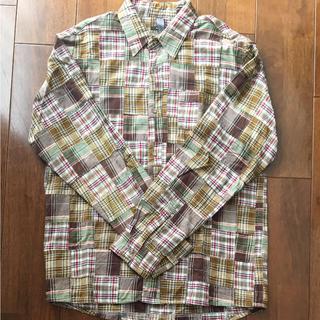 デラックス(DELUXE)のDeLUX デラックス チェックシャツ 長袖 L(シャツ)