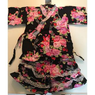 シマムラ(しまむら)のしまむら 花柄甚平 120cm(甚平/浴衣)