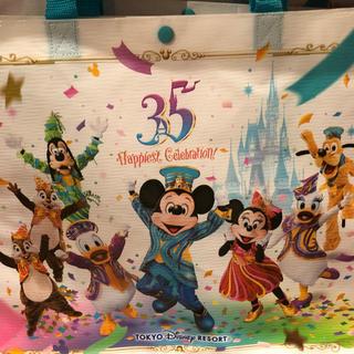 ディズニー(Disney)のハピエストセレブレーションショップバック、レジャーシート、チデスーベニア(日用品/生活雑貨)