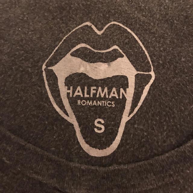 HALFMAN(ハーフマン)のHALFMAN ロックT / ハーフマン Tシャツ バンT ヴィンテージ 古着 メンズのトップス(Tシャツ/カットソー(半袖/袖なし))の商品写真