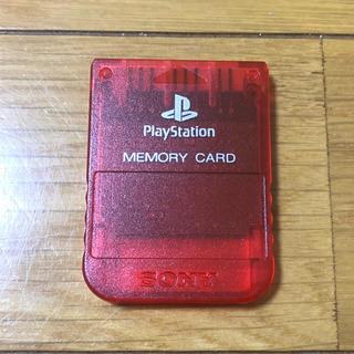 プレイステーション(PlayStation)のメモリーカード プレイステーション用 PS プレステ ソニー 純正(家庭用ゲーム本体)