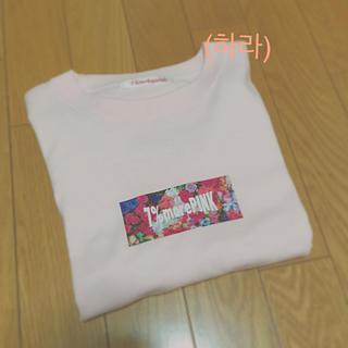 セブンパーセントモアピンク(7% more PINK)の7%morePINK  FOLWER Tシャツ(Tシャツ(半袖/袖なし))