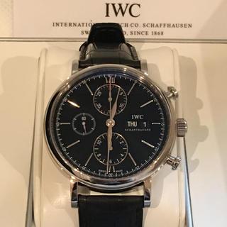 インターナショナルウォッチカンパニー(IWC)のIWC ポートフィノ クロノグラフ ブラック(腕時計(アナログ))