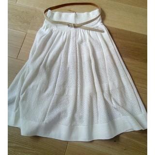 アングローバルショップ(ANGLOBAL SHOP)のil by saori komatsuのニットスカート(ひざ丈スカート)