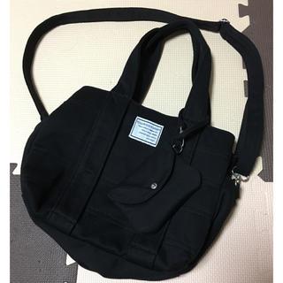 シマムラ(しまむら)のしまむら 便利バック ブラック ショルダーバッグ ハンドバッグ(ショルダーバッグ)