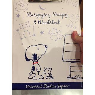 SNOOPY - ユニバーサルスタジオ USJ スヌーピー バインダー 新品