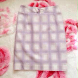 ダズリン(dazzlin)のdazzlin チェックタイトスカート♡(ひざ丈スカート)