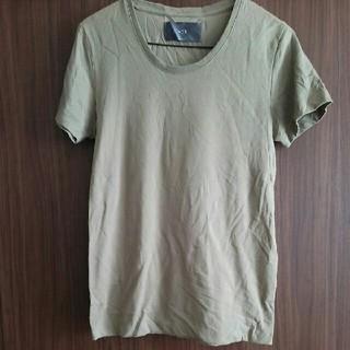 wjk カーキ色 Tシャツ S