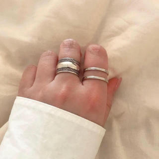 two ring シルバー925(リング(指輪))