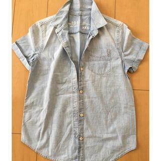 ギャップ(GAP)のガーベラ様専用。GAP 半袖 デニムシャツ(シャツ/ブラウス(半袖/袖なし))