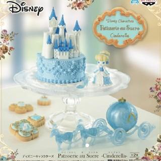 ディズニー(Disney)の新品▼2つセット! パティスリーオシュクル Qposket ディズニープリンセス(フィギュア)