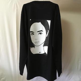ロンT サイズXL kyne ブラック(Tシャツ/カットソー(七分/長袖))
