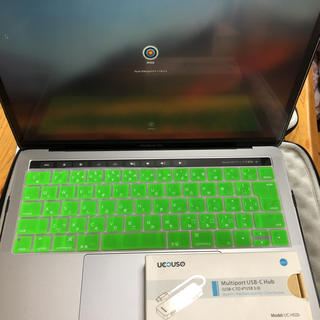マック(Mac (Apple))のMacbook Pro 13-inch (ノートPC)