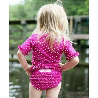 ラッフルバッツ  女の子 ラッシュガード 水着