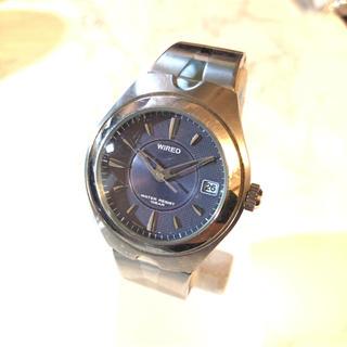 アルバ(ALBA)の【ALBA】V742-7A70 WIRED クオーツ腕時計 WH-1258(腕時計(アナログ))