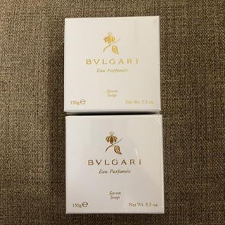 ブルガリ(BVLGARI)のブルガリ☆石鹸!二個セット(ボディソープ / 石鹸)