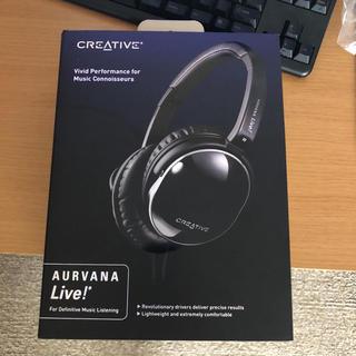 クリエイティブリクリエーション(CREATIVE RECREATION)の ヘッドホンAurvana Live! HP-AURVN-LV(ヘッドフォン/イヤフォン)