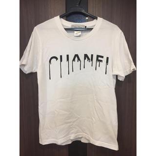 エンハンスエレメント(Enhance Element)のEnhance Element CHANELパロディーT ホワイト メンズ S(Tシャツ/カットソー(半袖/袖なし))