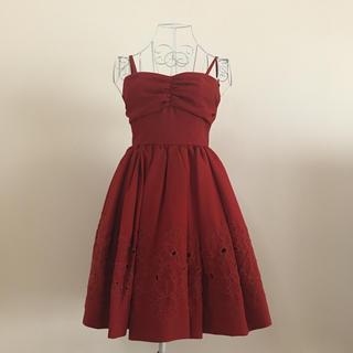 リリーブラウン(Lily Brown)のlily brown♡ドレス(ミニドレス)
