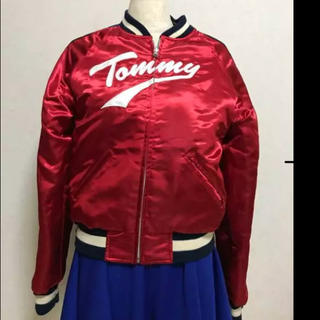 トミーガール(tommy girl)のTOMMYスカジャン☆リバーシブル☆ブーツに(スカジャン)