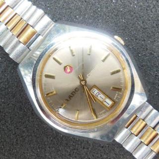 ラドー(RADO)の最終値下げ ラドー 自動巻 アンティーク腕時計 金張りコンビブレス(腕時計(アナログ))