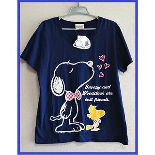 スヌーピー(SNOOPY)の【新品☆】スヌーピー&ウッドストック Tシャツ☆3L(PEANUTS)(Tシャツ(半袖/袖なし))