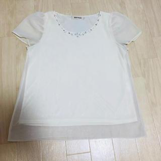 ミッシュマッシュ(MISCH MASCH)のミッシュマッシュ ビジューブラウス(シャツ/ブラウス(半袖/袖なし))