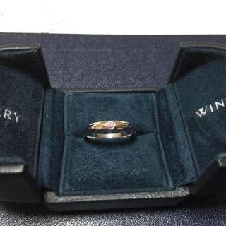 ハリーウィンストン(HARRY WINSTON)のハリーウィンストン ピンクダイヤリング(リング(指輪))