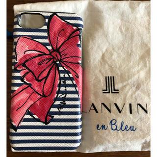 ランバンオンブルー(LANVIN en Bleu)のランバンオンブルー   アイホンカバーランバンオンブルー   スマホカバー(iPhoneケース)