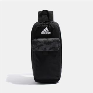 アディダス(adidas)のももクロポシュレ adidas ボディバッグ 黒(アイドルグッズ)