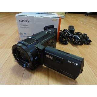 SONY - ソニー 4K ビデオカメラ 美品 充実セット ブラック FDR-AXP35