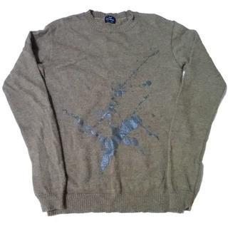 アゴストショップ(AGOSTO SHOP)のKei MACDONALD ケイ マクドナルド アルパカ混 ニット セーター M(ニット/セーター)