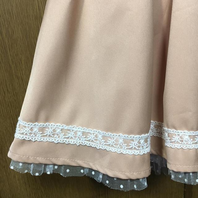 LIZ LISA(リズリサ)のバックデザイン スカート レディースのスカート(ひざ丈スカート)の商品写真