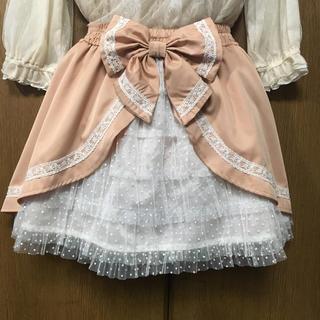 リズリサ(LIZ LISA)のバックデザイン スカート(ひざ丈スカート)