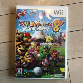 ウィー(Wii)のwii マリオパーティ8 中古(家庭用ゲームソフト)