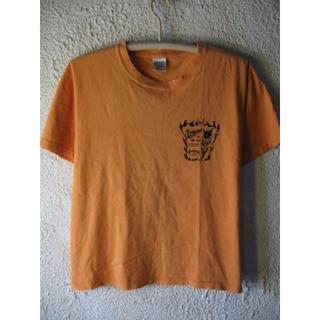 バーンズアウトフィッターズ(Barns OUTFITTERS)の1092 BARNS バーンズ アメリカ製  半袖 プリント  tシャツ(Tシャツ/カットソー(半袖/袖なし))