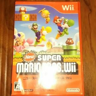 ウィー(Wii)のニュー・スーパーマリオブラザーズwii(家庭用ゲームソフト)